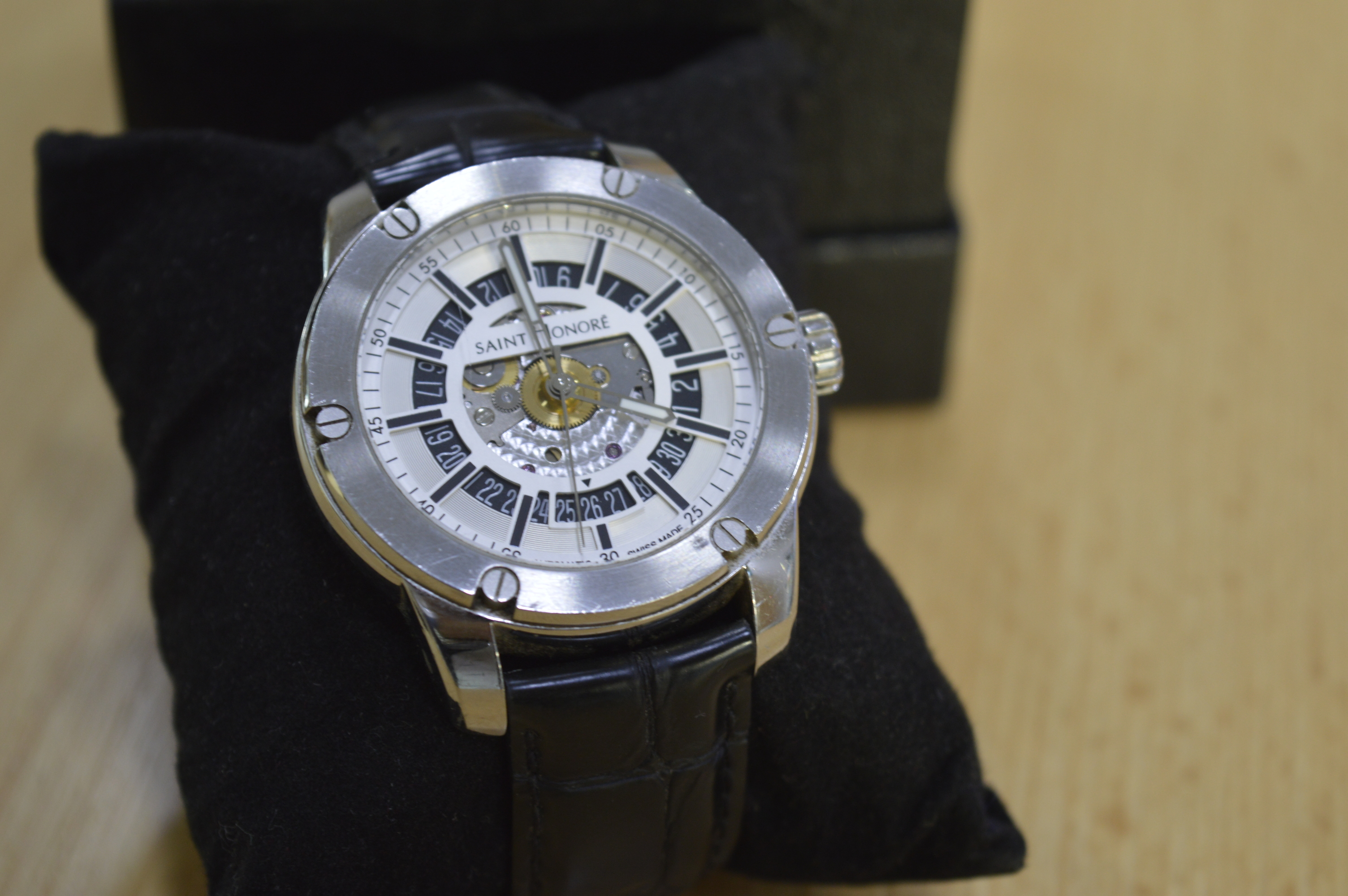Ceas Saint Honore The ARTCODE Open dial